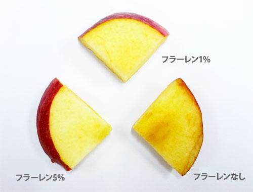 フラーレン りんご