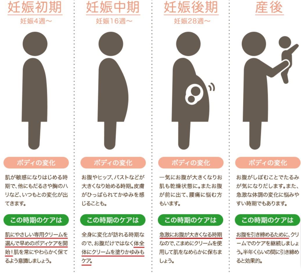アロベビーフォーマム 妊娠線クリームの使い方