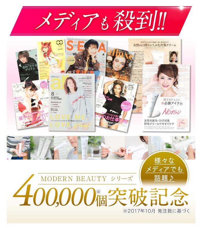 ノイス(NOISU)は芸能人も愛用!雑誌やメディアで人気