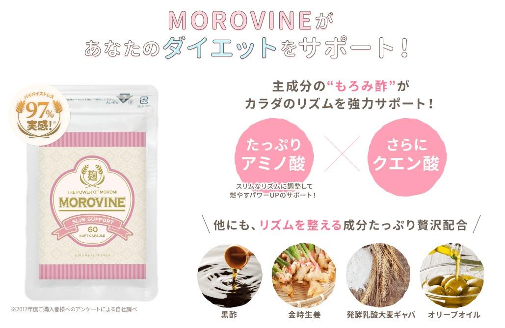 モロヴィーネの効果・効能