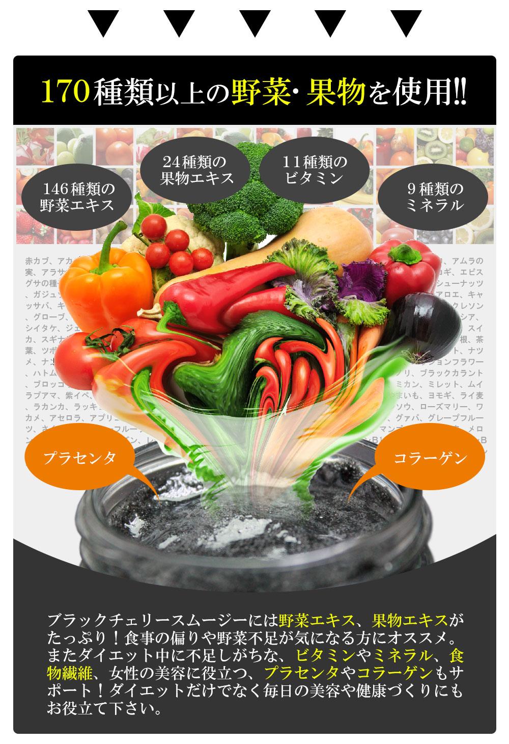 ブラックチェリースムージーダイエットの効果・効能!本当に痩せる?
