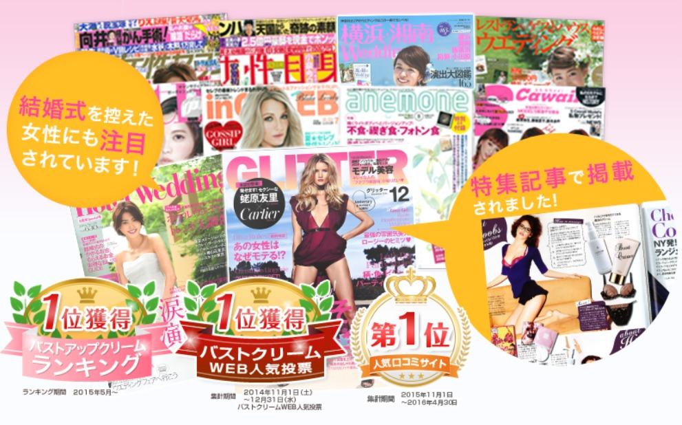 セルノートは芸能人も愛用!雑誌やメディアで人気