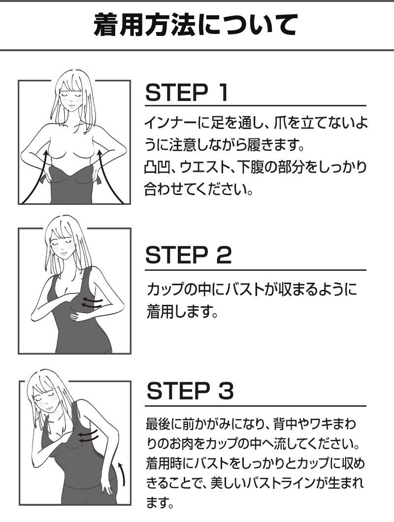 フェアリースリムの使い方・着用方法