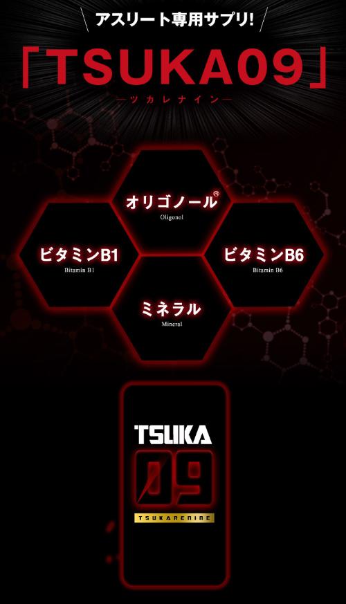 TSUKA09 ツカレナインとは