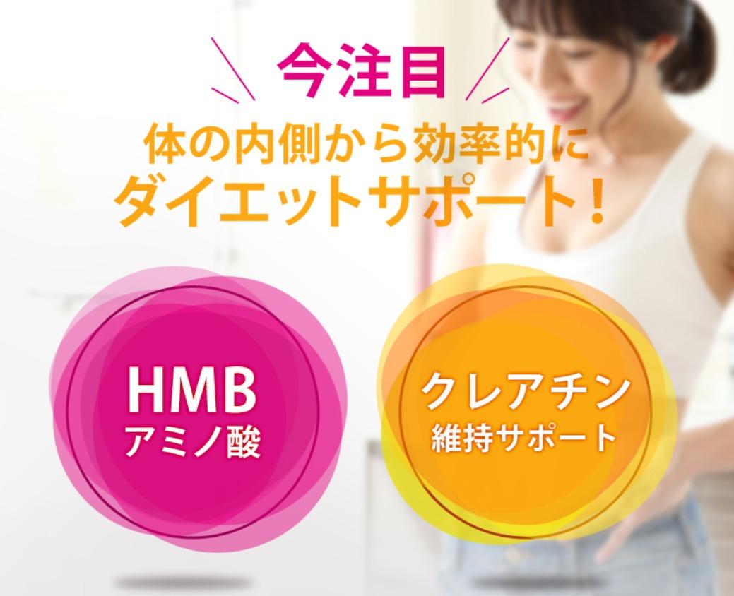 HMB JELLY SLIM アクティブスリムEMSセットの効果・効能
