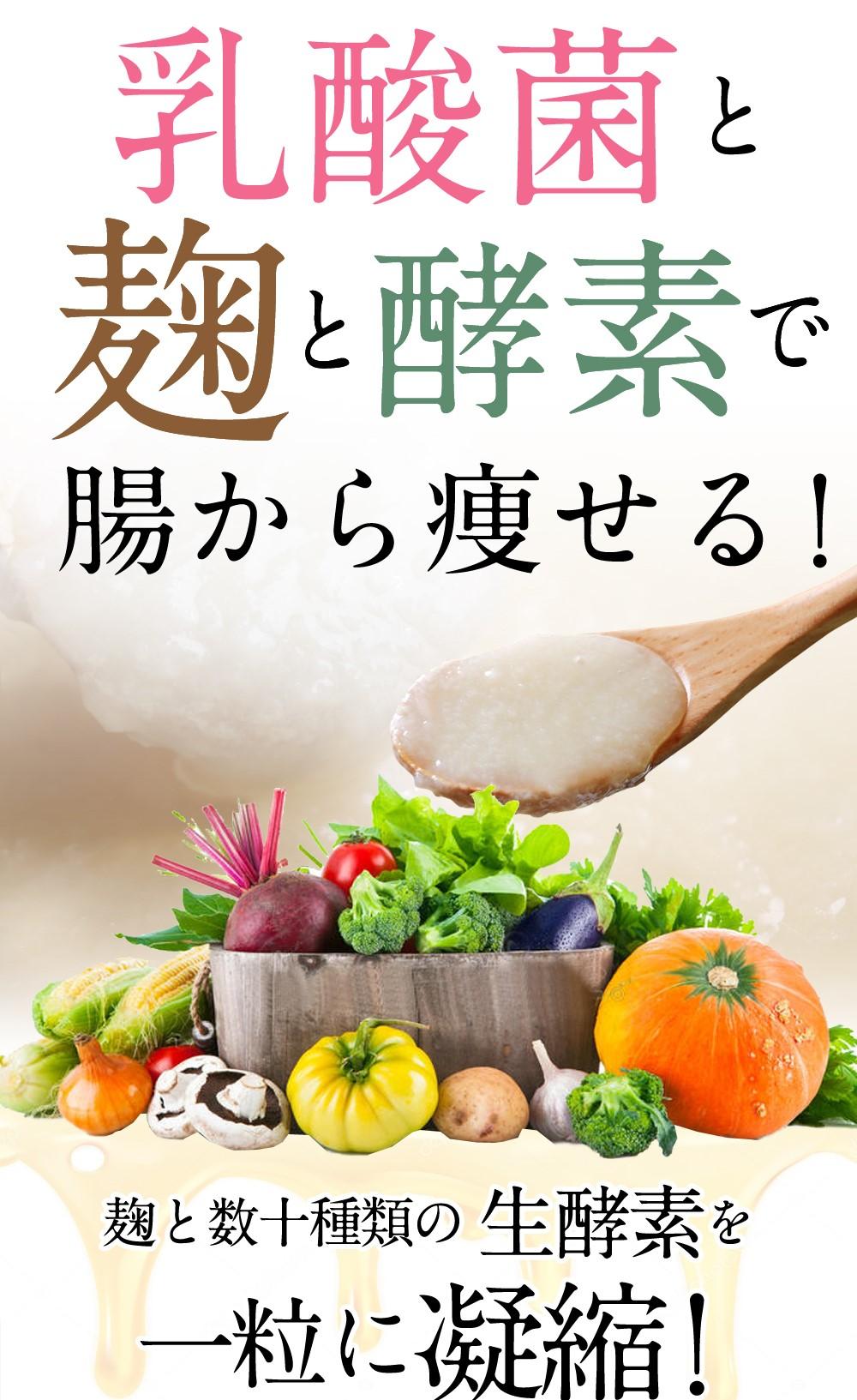 乳酸菌と麹と酵素の恵みとは