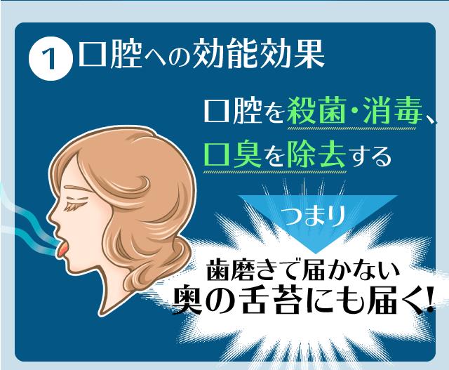 ルブレン 喉・口臭トローチの効果・効能